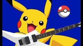 Pokémon Battle Theme on Guitar