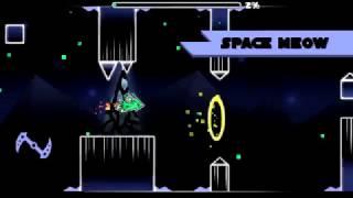 Geometry Dash - Space Meow (3 Coins) (Medium Demon) - by f3lixsram