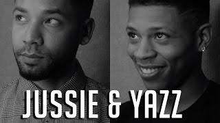 Empire Actors Jussie & Yazz Talk Season 2 And Bonding On Set