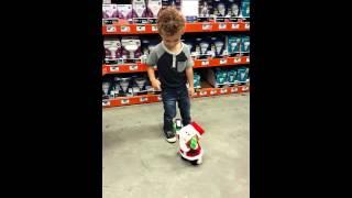 Santa Claus makes this child?