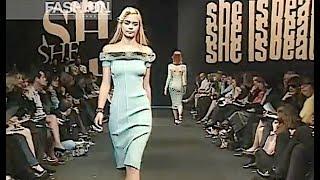 ANNA MOLINARI Fall 1998 1999 Milan - Fashion Channel