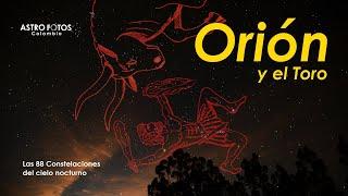 Las 88 Constelaciones ORION Y TAURO