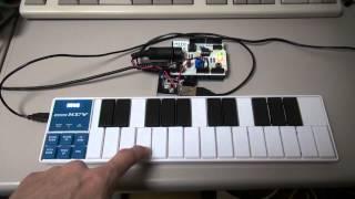 USB MIDI converter - nano KEY