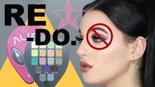 Jeffree Star Cosmetics Alien Palette RETRY - Brutally Honest of course...!