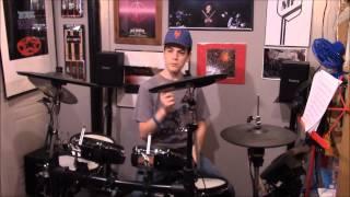 """Uma Thurman"" Drum Cover by MIK3RDRUMM3R"