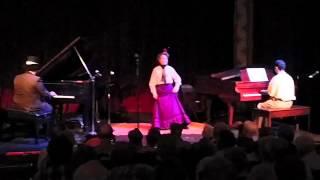 Ramona Baker at the Sutter Creek Ragtime Festival