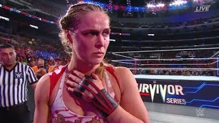 Ronda Rousey Is FURIOUS With WWE Fans