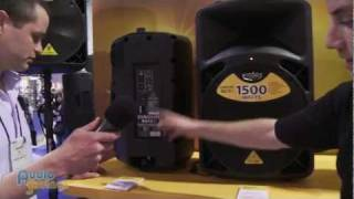 Behringer Eurolive B612D and B615D Powered Speakers - NAMM 2012 - AudioSavings