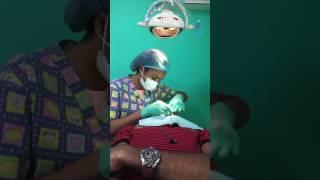 Yo con mi dentista