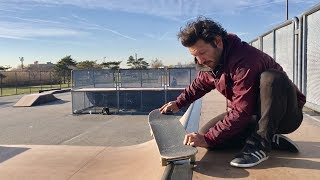 How To Fs Smith Grind On A Mini Ramp
