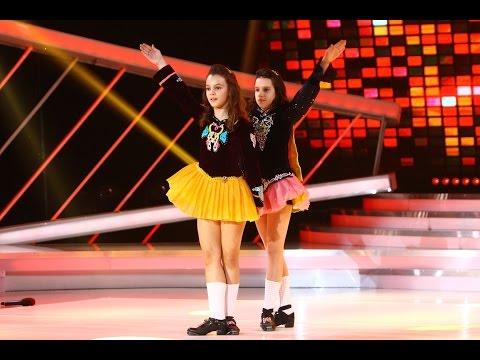 "Fetiţele din trupa ""Steysha"" dans irlandez  la Next Star"