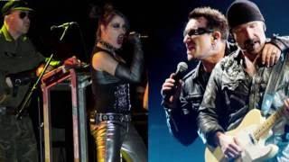 U2 vs KMFDM mashup Mysterious ways