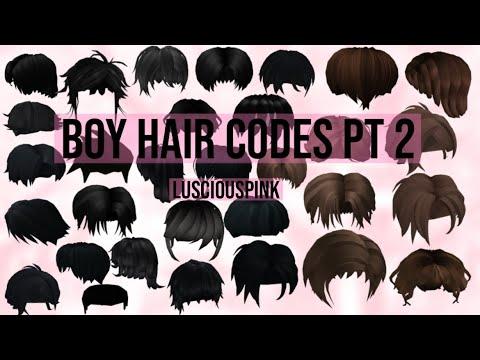 Roblox Hair Codes For Boys 06 2021