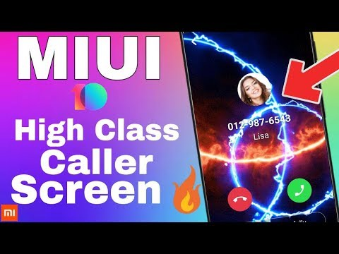 Download thumbnail for MIUI 10 Change IncomingOutgoing Calling