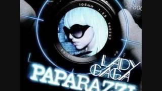"""Lady Gaga """"Paparazzi"""" with Lyrics"""