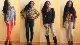 Fall Thrift Store Haul & Style | JASMINE ROSE