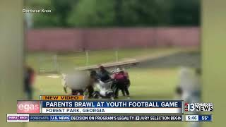 Fight at football game in Georgia