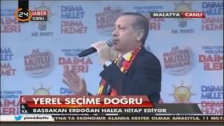 Cumhurbaşkanı Recep Tayyip Erdoğan küfür ediyor