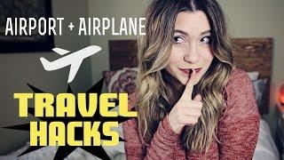Airport & Airplane TRAVEL HACKS