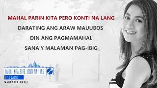 Kyla Alvarez - Mahal Kita Pero Konti na lang (Official Lyrics video)