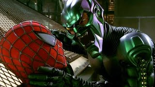The Green Goblin Proposal - Rooftop Scene - Spider-Man (2002) Movie CLIP HD