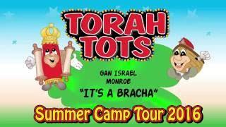 TORAH TOTS AT GAN ISRAEL,MONROE   - BRACHA