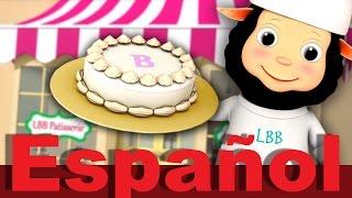 Tortas, tortitas | LittleBabyBum canciones infantiles HD 3D