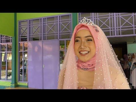 Cantiknya Gaun Pengantin Karya Siswi SMKN 3 Klaten