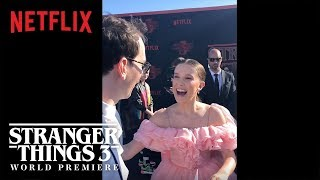 The Curiosity Carpet with Mr. Clarke   Stranger Things 3 Premiere   Netflix