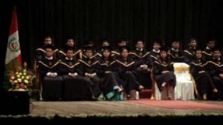 Ceremonia de Graduacion 2009 FIECS - UNI 4