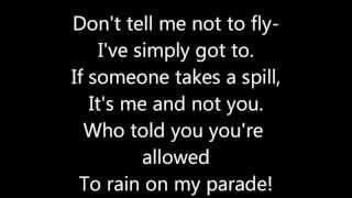 Don't Rain On My Parade Lyrics