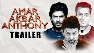 Amar Akhbar Anthony Remake Trailer   Salman, Shahrukh, Amir khan width=