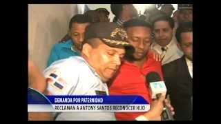 Demandan por manutencion a Anthony Santos