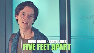 Novo Amor - State Lines (Lyric video) • Five Feet Apart Soundtrack •