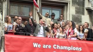 Ribéry chante « Les Champs Élysées »
