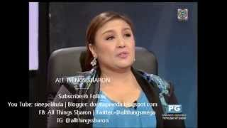 YFSF: Sharon Cuneta on Edgar Allan Guzman As Vice Ganda
