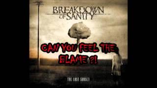 Breakdown Of Sanity- Resistance (lyric video)