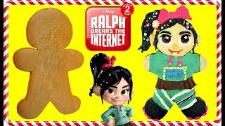 RALPH BREAKS THE INTERNET Vanellope Gingerbread Man Cookie Decoration
