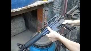 Marcador M16 Cout , BT omega, Mira lazer para Paintball.