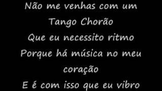 Tango chorão karaoke