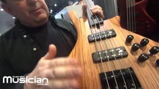 NAMM 2017: Cole Clark Bass