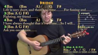 We Can Work It Out (The Beatles) Strum Guitar Cover Lesson with Chords/Lyrics