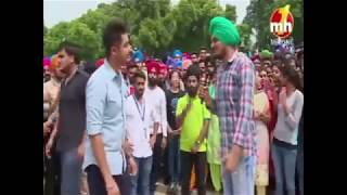 Sidhu MooseWala on Canteeni Mundeer with Ravneet 2017