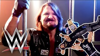 Behind the Scenes: WWE Superstar AJ Styles & WWE Tough Talkers | WWE Tough Talkers | Mattel Action!