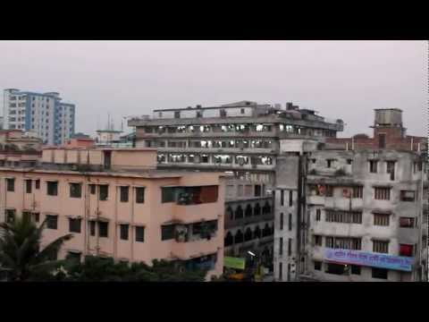 Beautiful Azan/Adhan (Muslim call to prayer) in Dhaka Bangladesh