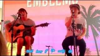 Heavy (Lyrics) - Emblem3 (Live Acoustic)