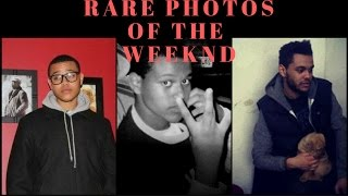 THE WEEKND RARE PICTURES