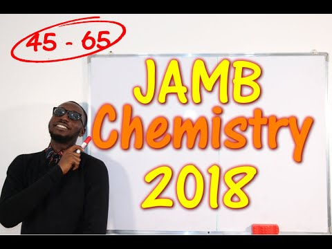 JAMB CBT Chemistry 2018 Past Questions 45 - 65