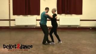 The Boy Does Nothing - Alesha Dixon (Improvised Salsa demo dance from ticket2dance.)
