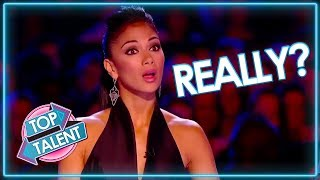 Are These Acts FOR REAL? Auditions That Went Wrong | Top Talent